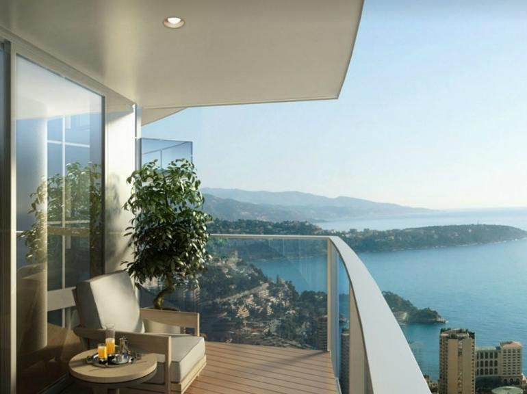 La tour od on monaco abritera l 39 appartement le plus cher du monde - Appartement le plus cher monaco ...