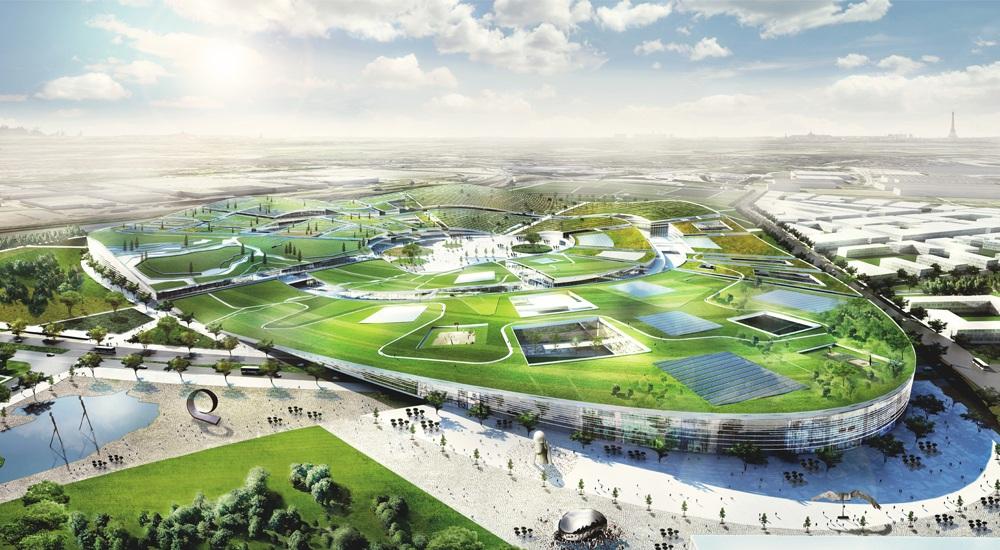Exceptionnel Europa City : quatre équipes pour le complexe commercial du Grand  PO05