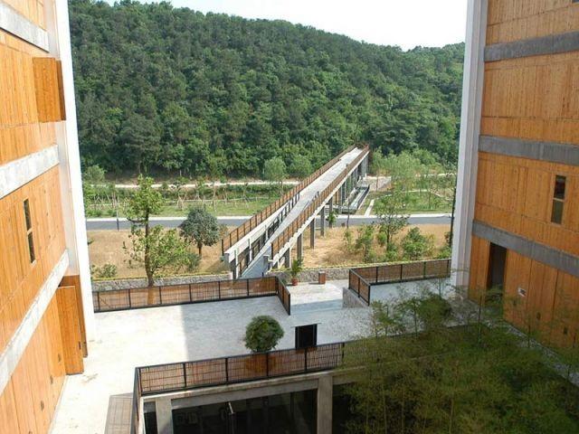 campus beaux arts hangzhou wang shu chine architecture Wang Shu devient le premier architecte chinois lauréat du Prix Pritzker