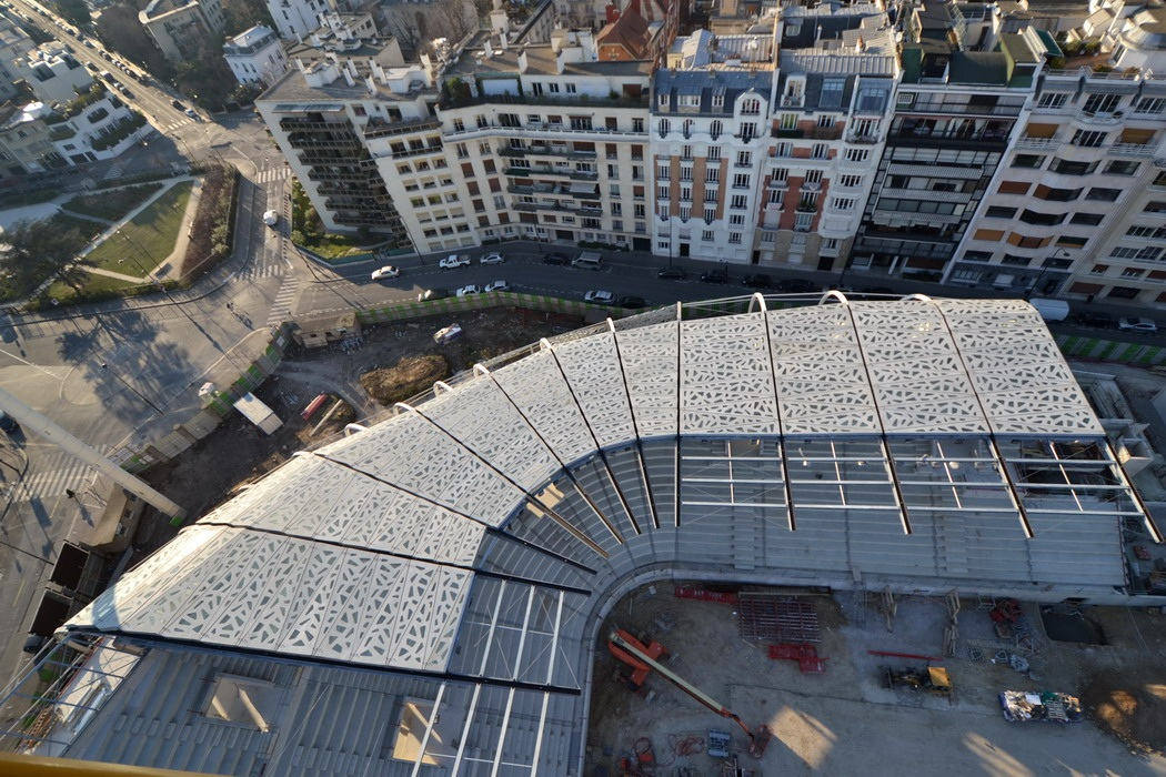 chantier ricciotti stade jean bouin Actualité sur le chantier du stade Jean Bouin par Rudy Ricciotti