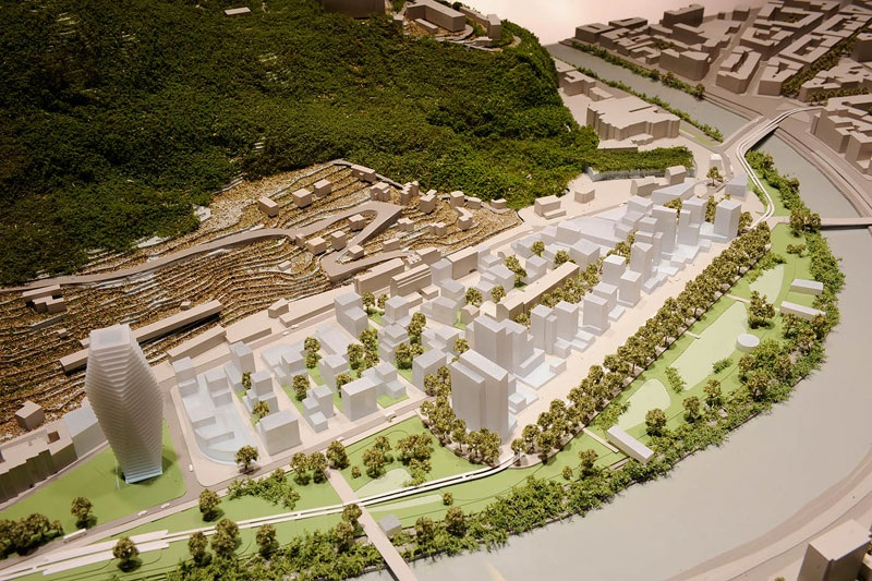 esplanade projet grenoble zac portzamparc La ZAC de lEsplanade  Grenoble : Portzamparc met le projet sur les rails