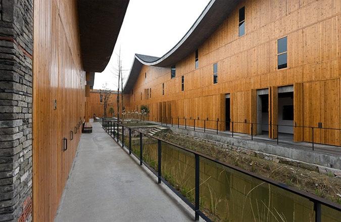 hangzou campus beaux arts ecole architecture pritzker Wang Shu devient le premier architecte chinois lauréat du Prix Pritzker