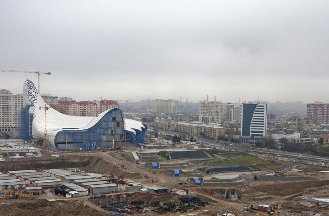 heydar aliyev culturel centre hadid Un centre culturel aux courbes fluides dessiné par Zaha Hadid