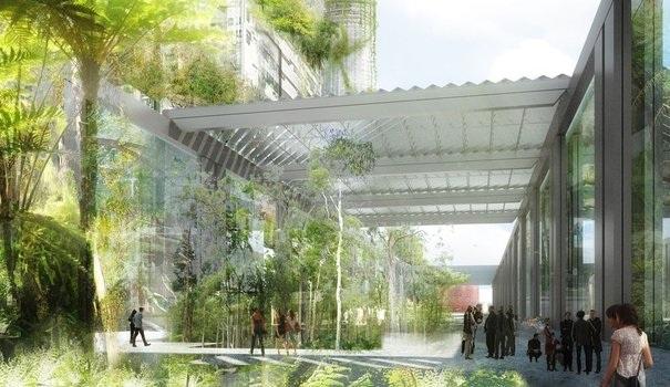 Verrière rétractable du futur jardin Ile-seguin-verriere-projet