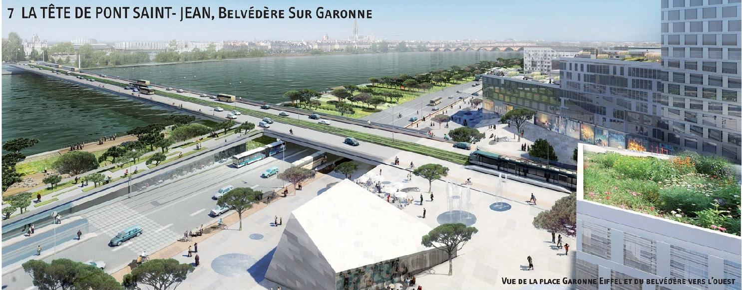 Oin euratlantique le projet garonne eiffel par l for Agence urbanisme paysage bordeaux
