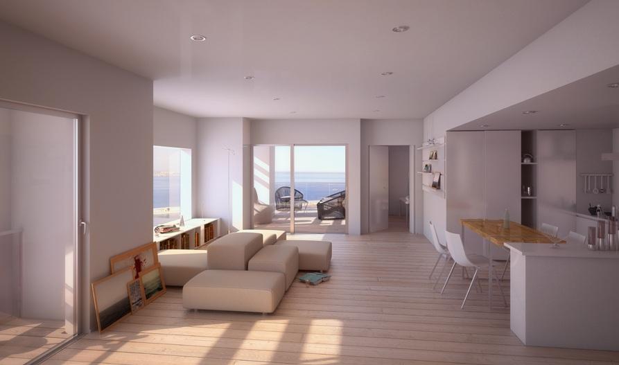 tour h99 appartement Visite de la Tour H99 : la future plus haute tour dhabitation de Marseille par Jean Baptiste Pietri