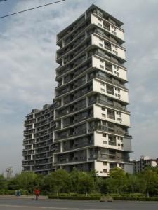 tour habitation hangzou wang shu prix pritzker 225x300 Wang Shu devient le premier architecte chinois lauréat du Prix Pritzker