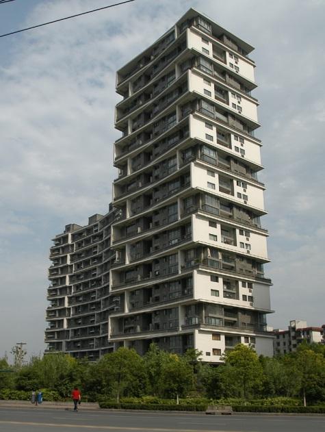 tour habitation hangzou wang shu prix pritzker Wang Shu devient le premier architecte chinois lauréat du Prix Pritzker