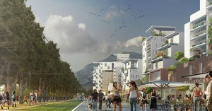 zac esplanade portzamparc grenoble 300x157 La ZAC de lEsplanade  Grenoble : Portzamparc met le projet sur les rails
