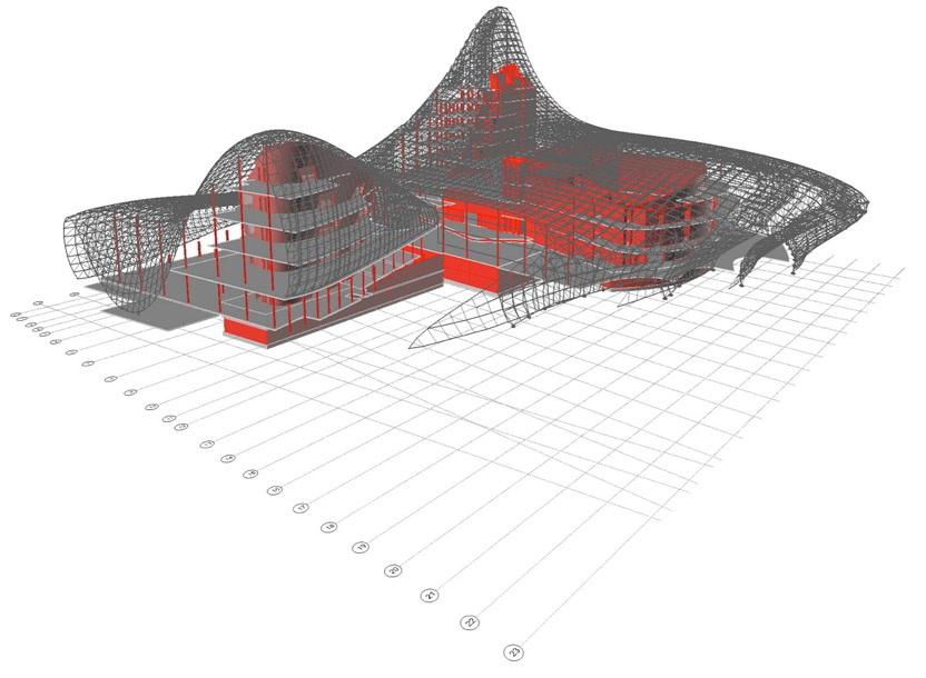 zaha hadid projet architecture Azerbaïdjan Un centre culturel aux courbes fluides dessiné par Zaha Hadid