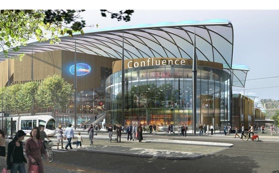 Centre commercial lyon confluence place nautique for Centre commercial grand tour sainte eulalie