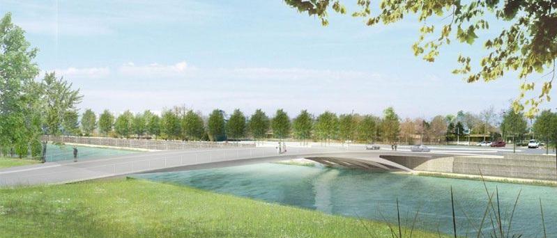 pont chardonnet zac baud rennes marc mimram Livraison programmée pour le nouveau Pont Chardonnet à Rennes : été 2012