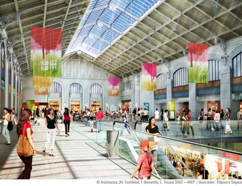 Exceptionnel Inauguration de la gare Saint Lazare à Paris après dix années de  PO05