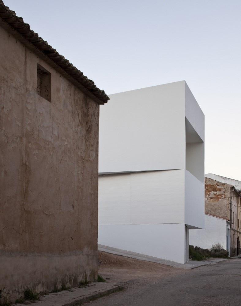 architecture le concept de la maison blanche immacul e