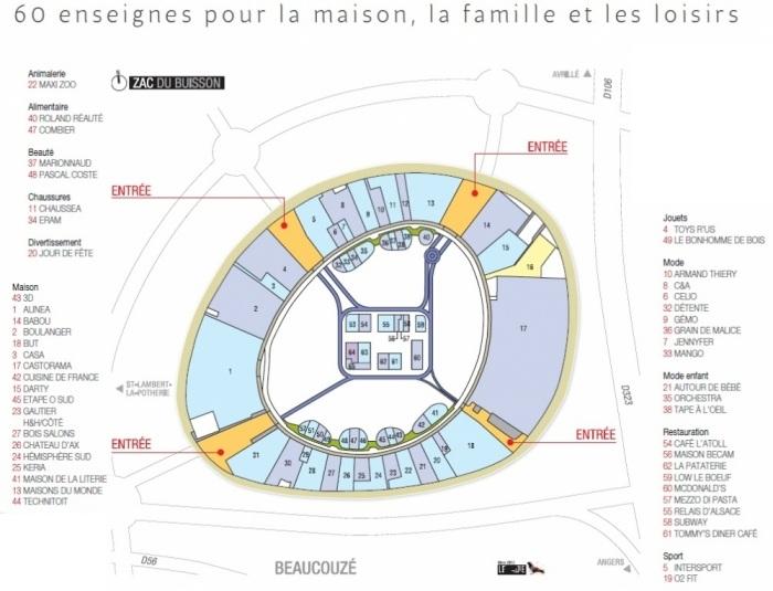 atoll le nouveau centre commercial hqe inaugur dans la. Black Bedroom Furniture Sets. Home Design Ideas