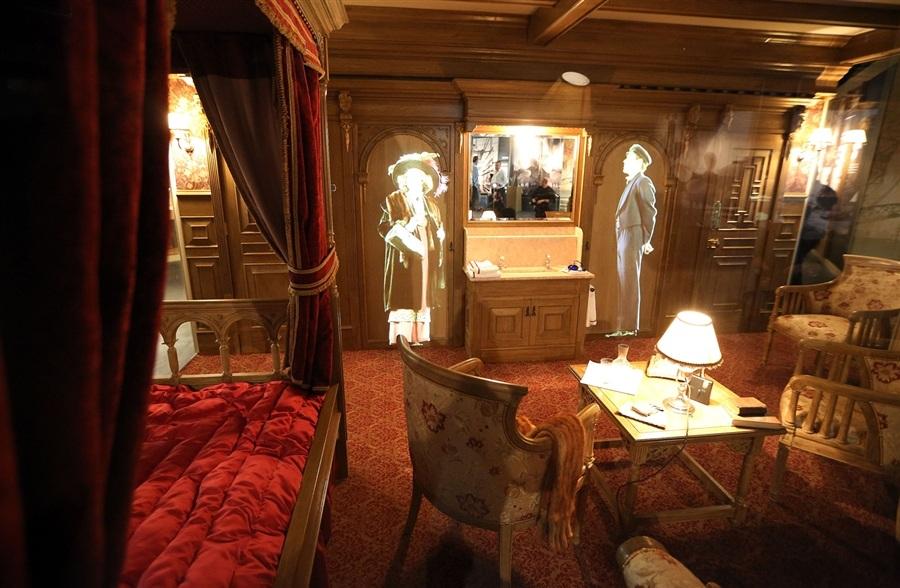 Visite le mus e du titanic sur son lieu de construction for La salle de bain du titanic