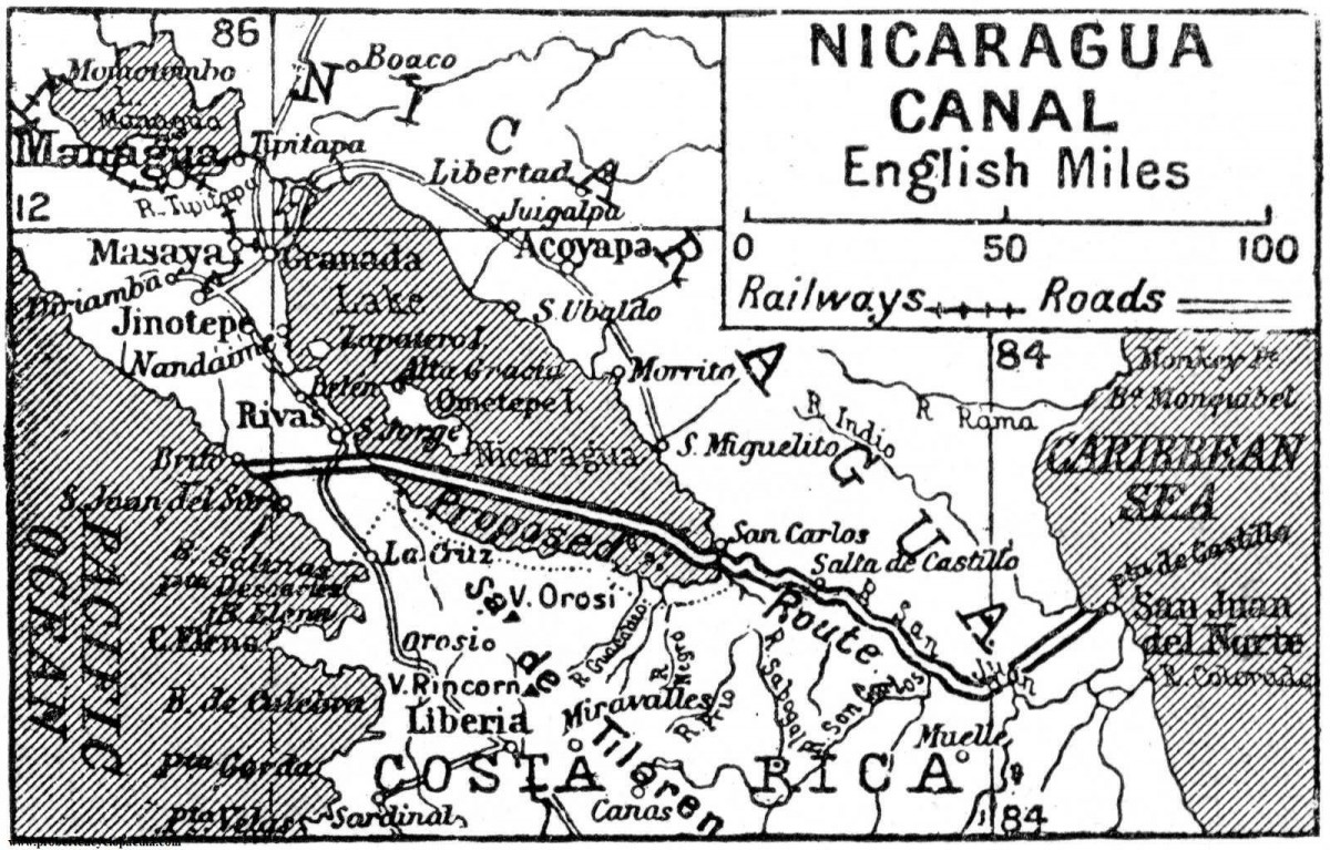 canal nicaragua projet construction 1922 1200x767 Le projet de construction du canal du Nicaragua refait surface