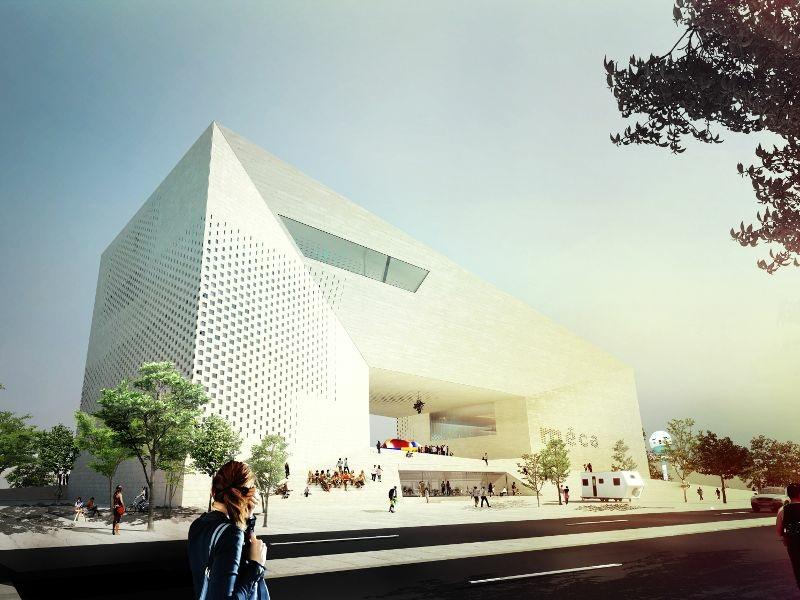D couverte de la future maison de l 39 economie cr ative et for La maison creative