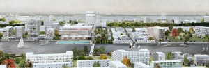 projet caen presquile auc 300x98 Trois visions pour un grand projet urbain  Caen