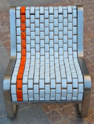Mobilier urbain espace public banc ceramique for Mobilier urbain espace public
