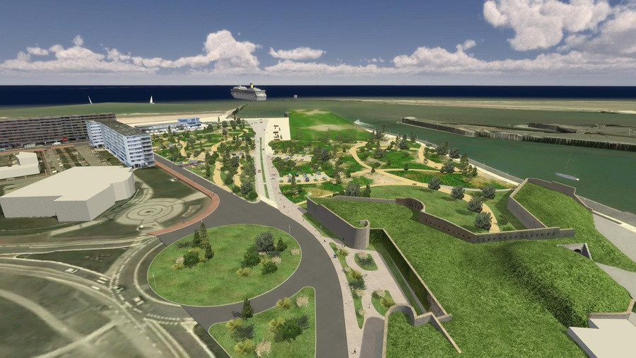 projet calais front mer arc ame Calais prsente son projet de ramnagement du bord de mer
