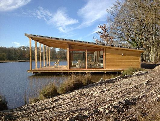 Le 1er prix national de la construction bois d cerne les plus beaux projets d - Anglade structure bois ...
