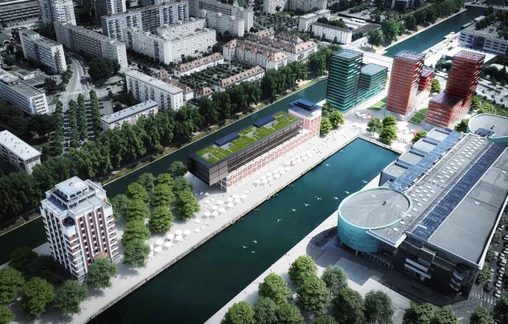 Strasbourg trois tours en projet sur la presqu 39 le malraux for K architecture strasbourg