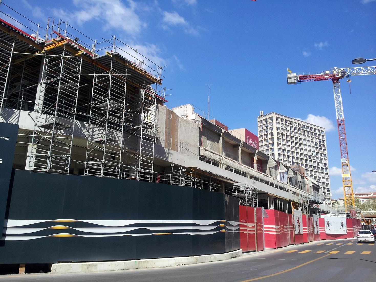 Le chantier du centre bourse et du mus e d 39 histoire de for Bourse exterieur