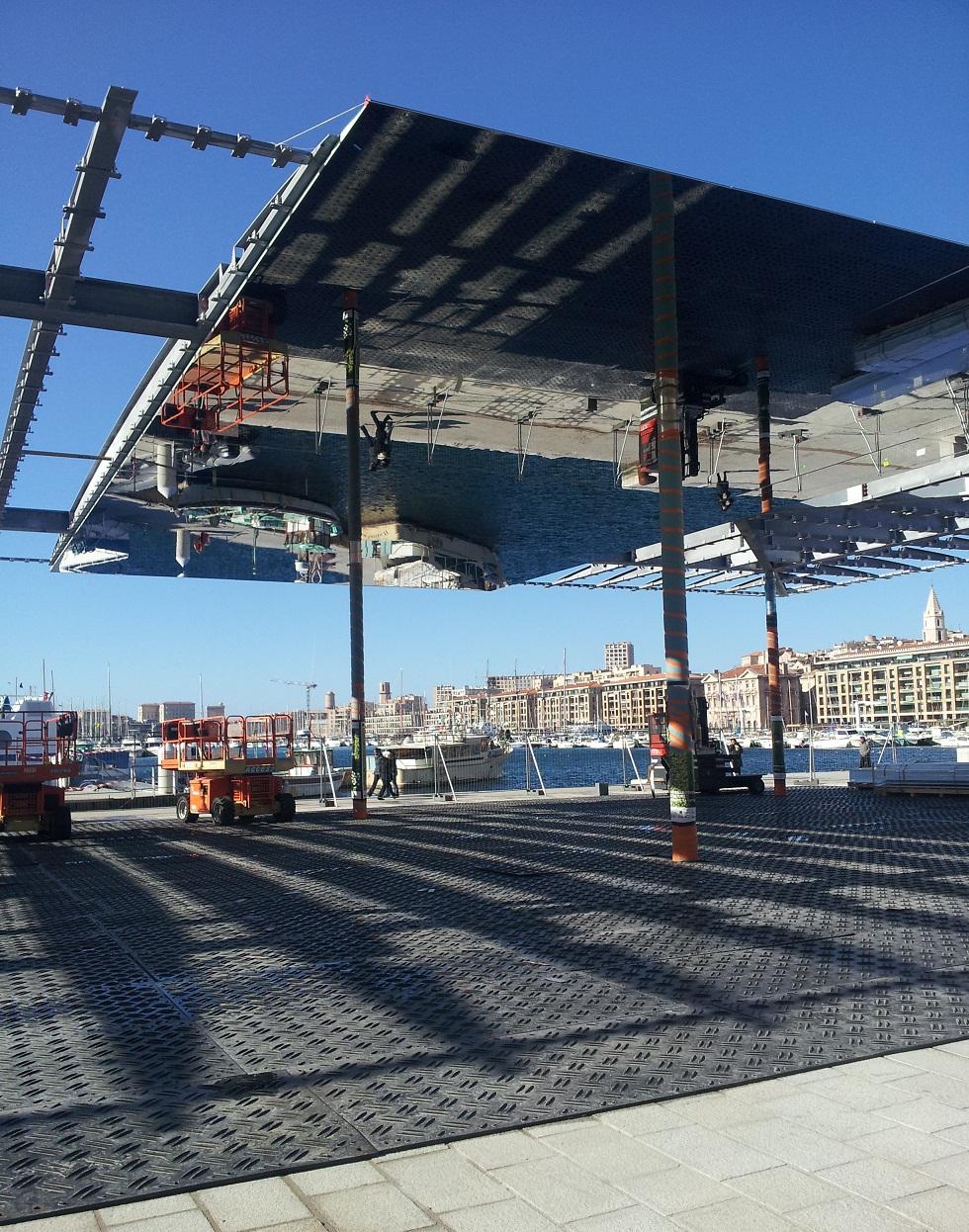 Actualit du chantier du vieux port l 39 ombri re de norman - Restaurant l entrecote marseille vieux port ...