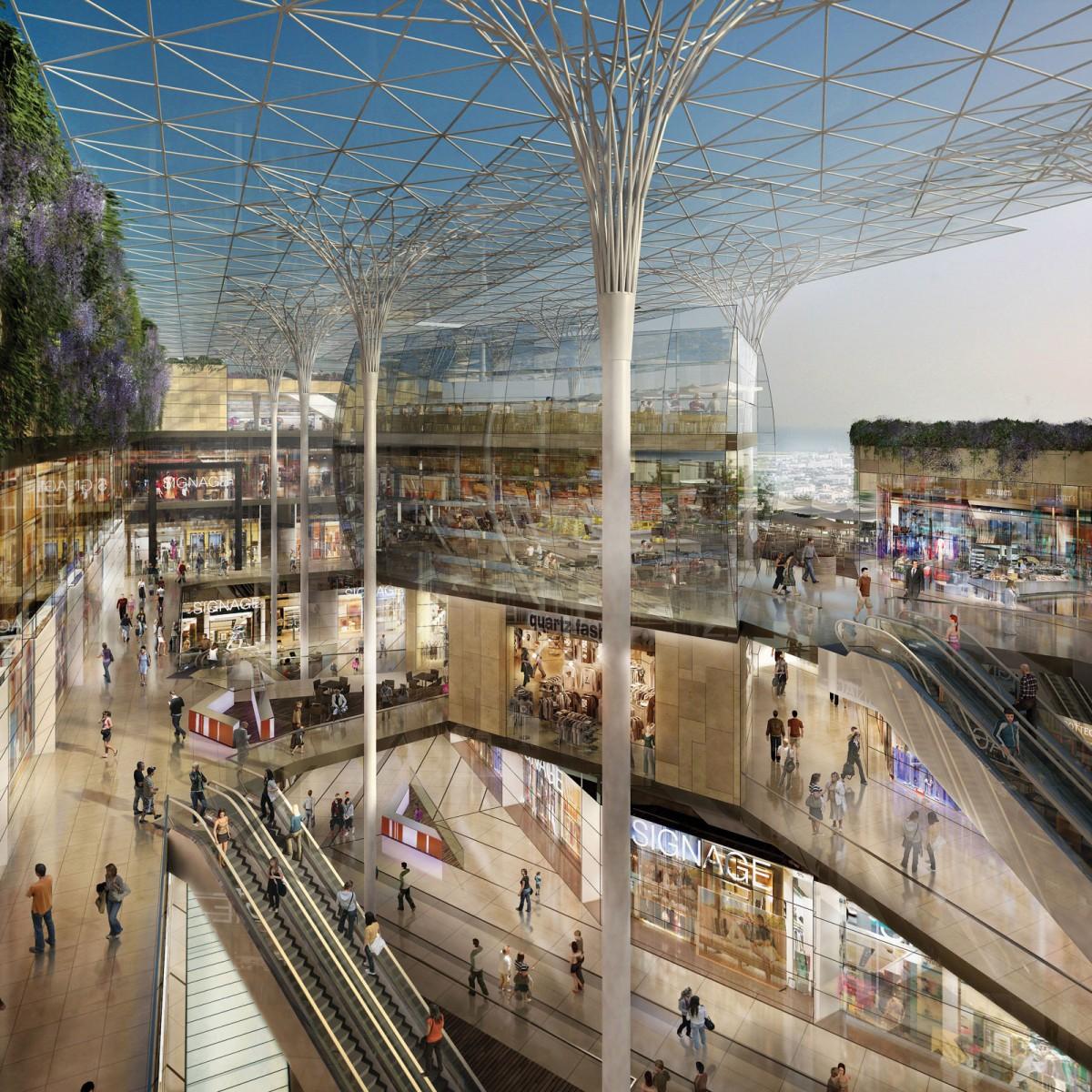 D couvrez le projet de centre commercial du prado marseille - Nouveau centre commercial amiens nord ...