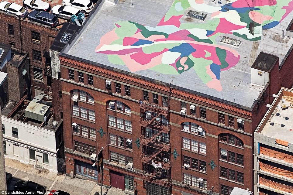 New york vue du ciel par alex maclean photographe urbain for West 27th street nyc