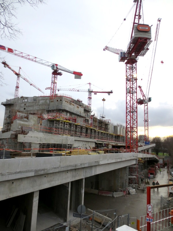 Philharmonie de Paris par Jean Nouvel : photographies du chantier