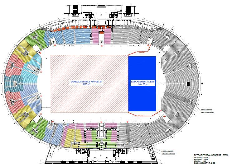 Restructuration du stadium de toulouse pour l 39 euro 2016 for Interieur u arena