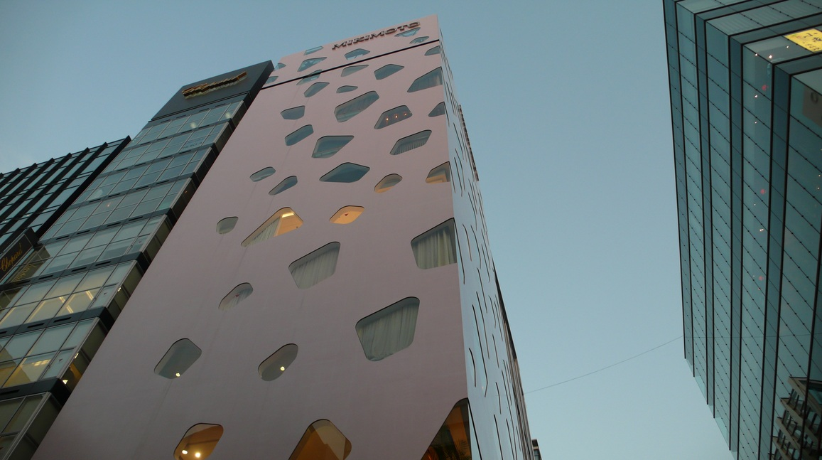 Tour Mikimoto Ginza toyo ito Le laurat du prix Pritzker 2013 est larchitecte japonais Toyo Ito