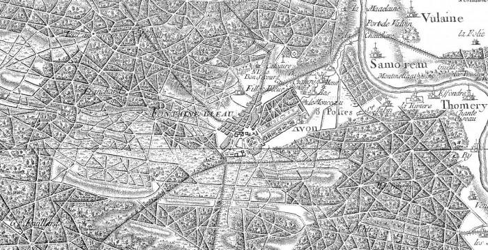 carte-cassini-fontainebleau-ign