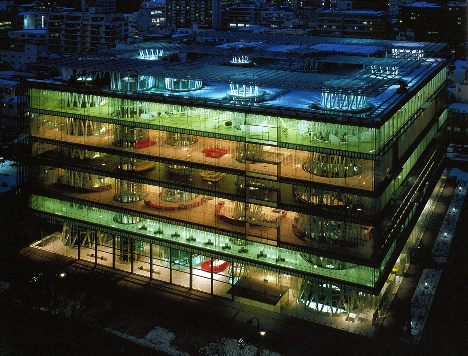 mediatheque sendai toyo ito Le laurat du prix Pritzker 2013 est larchitecte japonais Toyo Ito