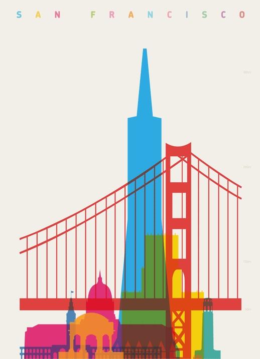 Design Skylines Des Plus Grandes Villes Du Monde Par Yoni Alter
