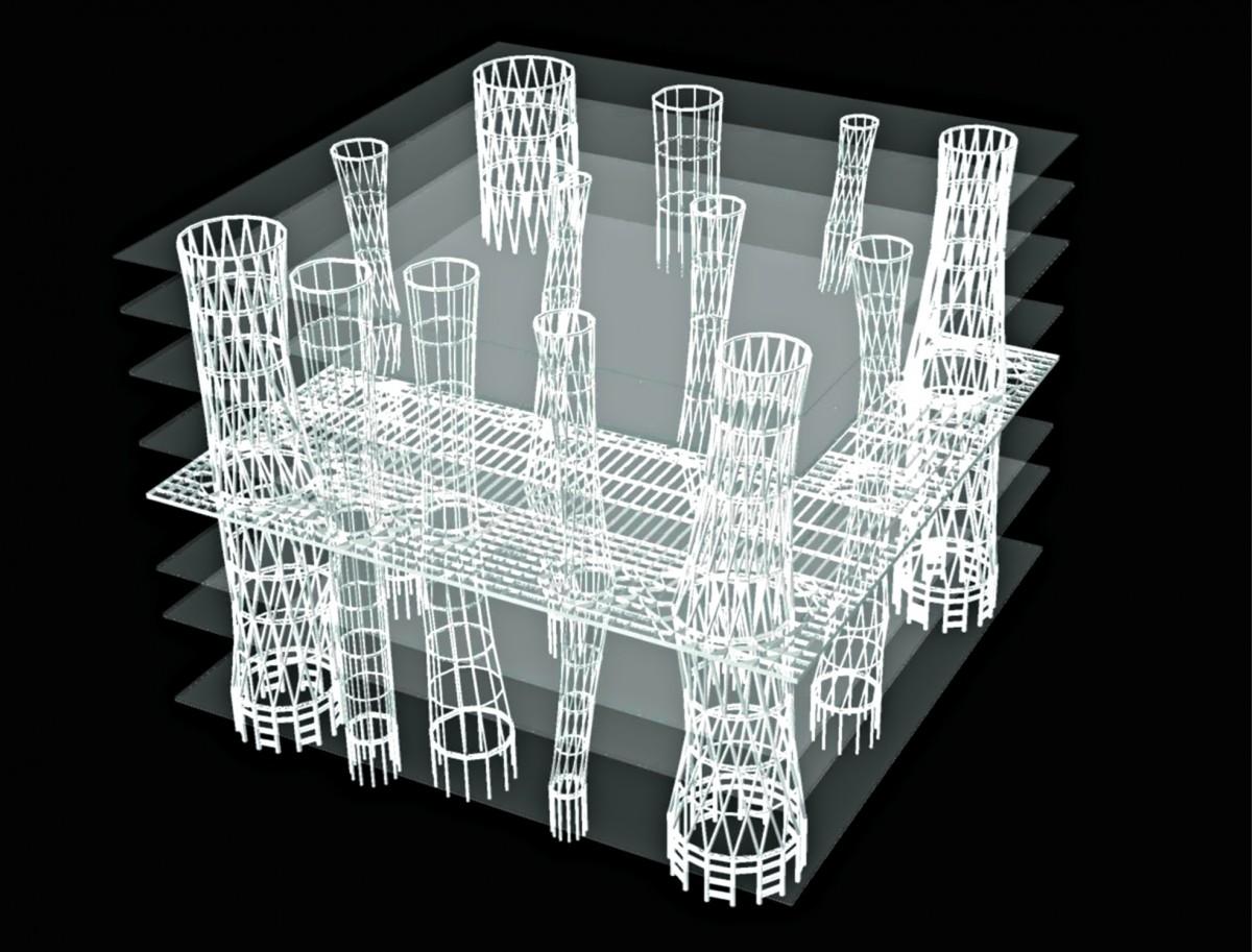 structure mediatheque sendai 1200x913 Le lauréat du prix Pritzker 2013 est larchitecte japonais Toyo Ito
