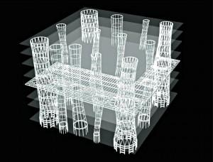 structure mediatheque sendai 300x228 Le lauréat du prix Pritzker 2013 est larchitecte japonais Toyo Ito