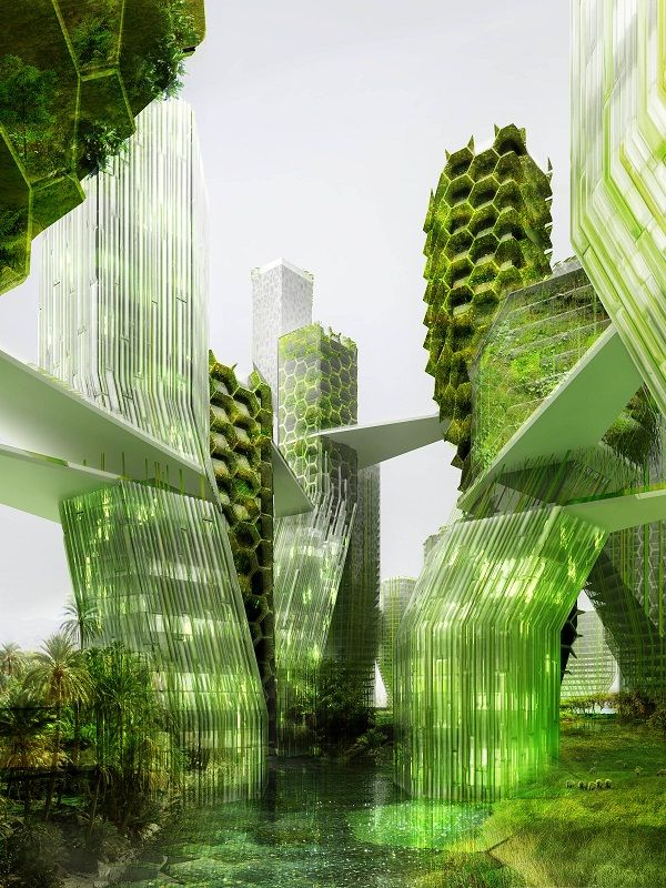 Bien aim ville future cologique ku66 montrealeast for Architecture futuriste ecologique