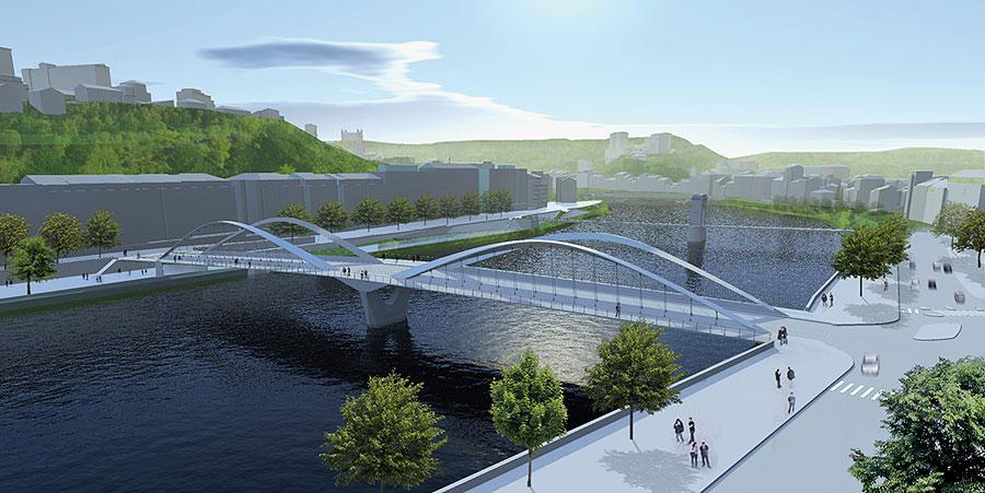 Pont-Schuman-saone