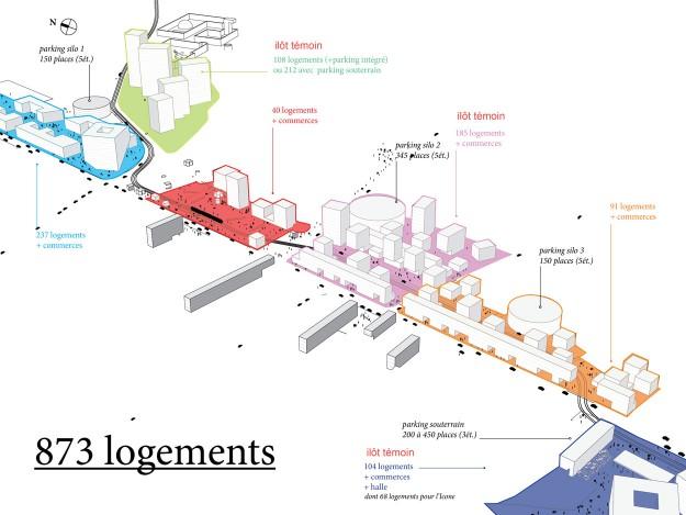 amenagement begles villenave oma koolhaas Lagence OMA sélectionnée pour aménager le sud de Bordeaux le long de la ligne C du tramway