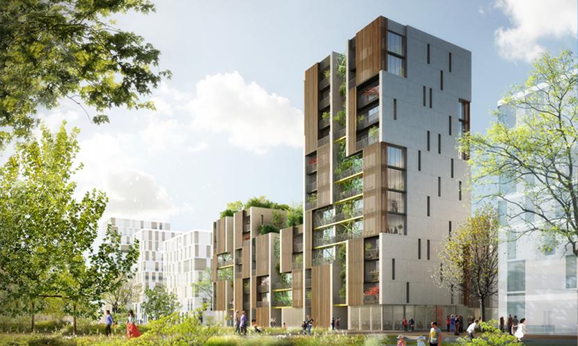 Zac de la cartoucherie un nouvel co quartier dans toulouse - Appartement luxe en californie horst architects ...