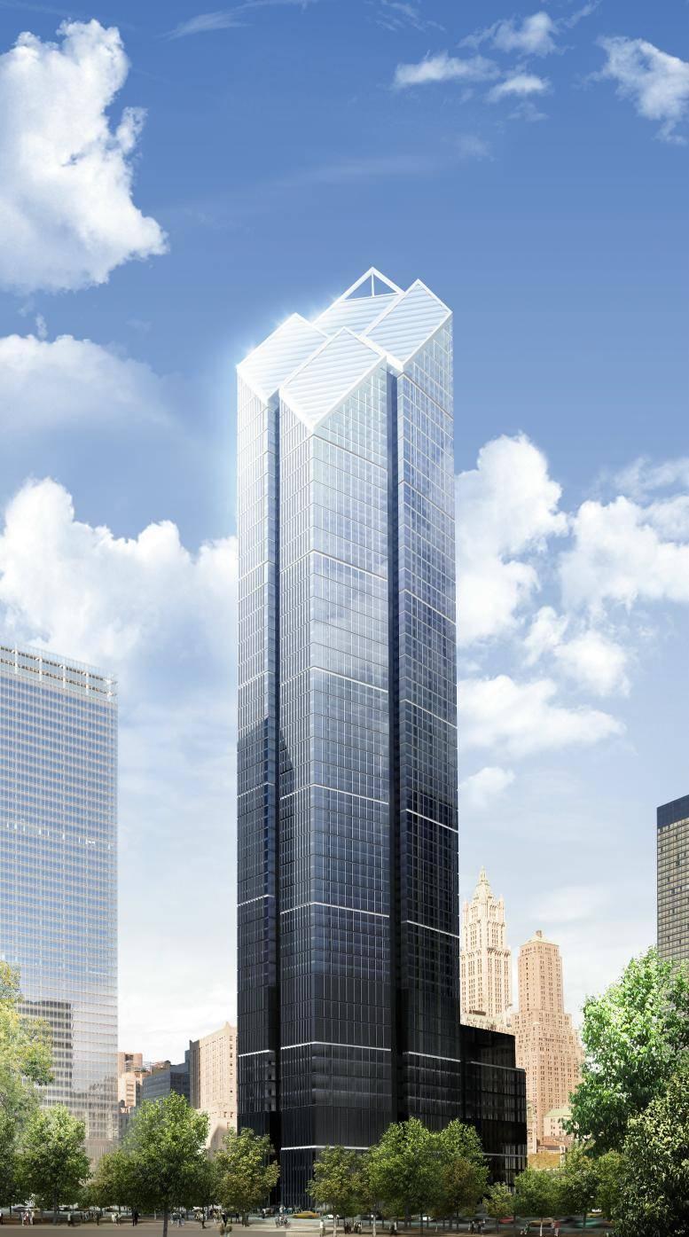 2 world trade center1 La tour 2 World Trade Center à New York : la troisième plus haute tour dAmérique par Norman Foster