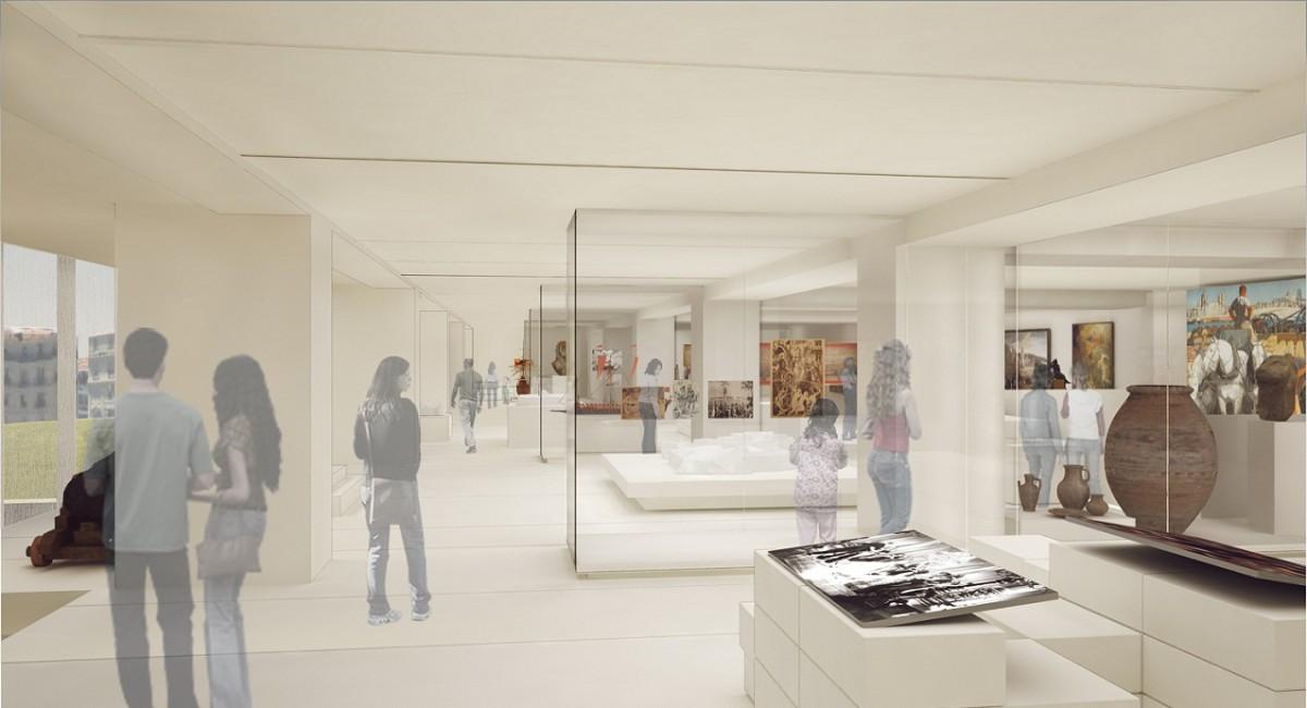 sc 233 nographie du mus 233 e d histoire de marseille d 233 couverte des galeries d exposition