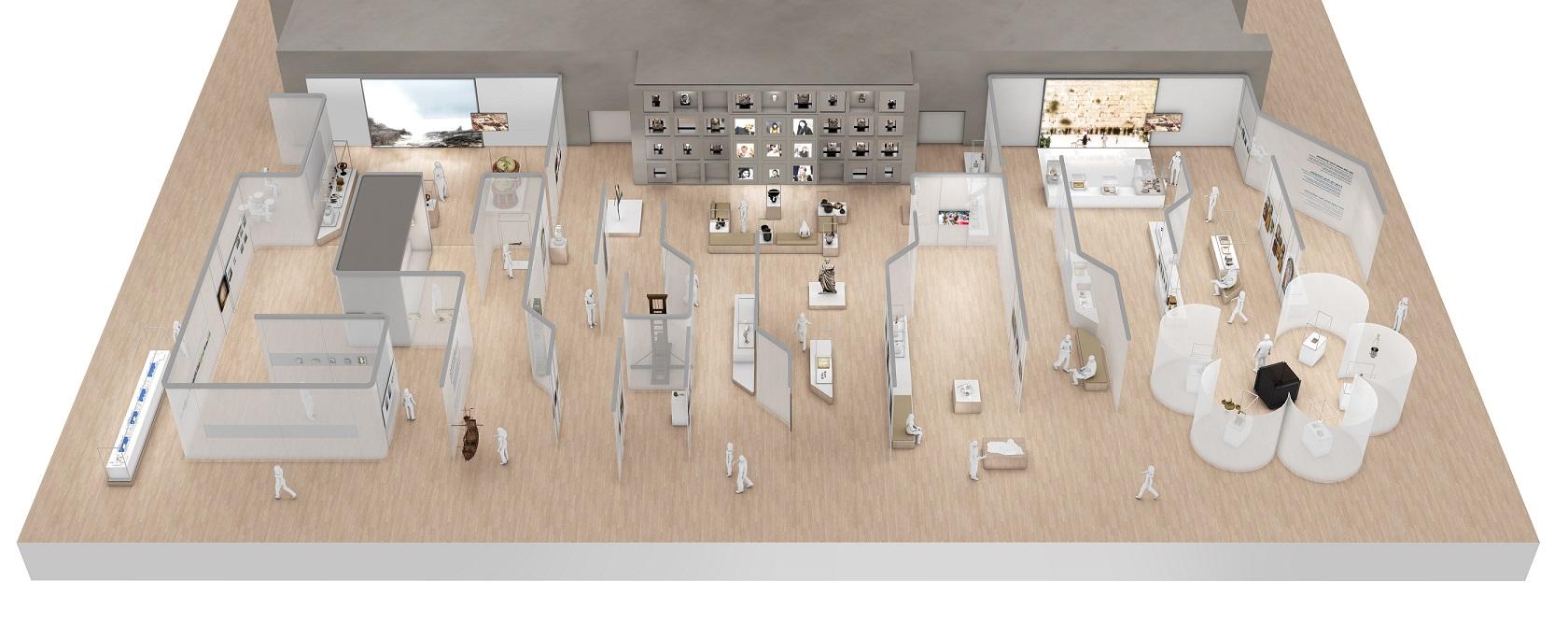 La sc nographie du mucem l 39 int rieur du futur mus e marseillais for Architecture dinterieur marseille