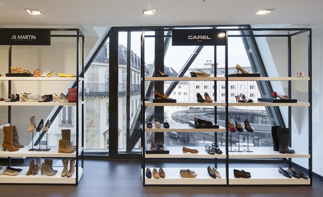 chaussures magasin le printemps. Black Bedroom Furniture Sets. Home Design Ideas
