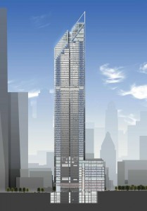 plan 2 world trade center tour 209x300 La tour 2 World Trade Center à New York : la troisième plus haute tour dAmérique par Norman Foster