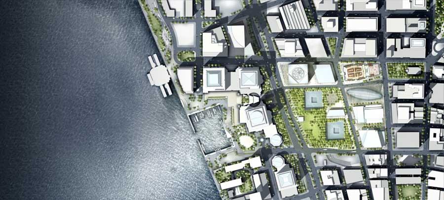 plan world trade center new york La tour 2 World Trade Center à New York : la troisième plus haute tour dAmérique par Norman Foster