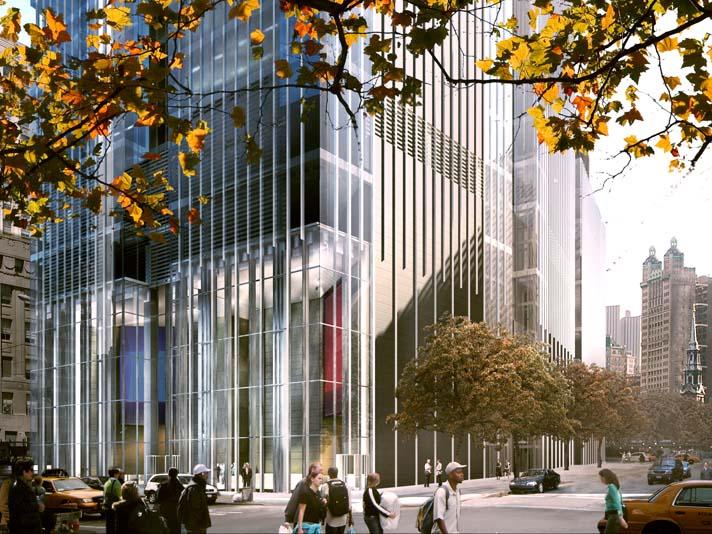 tour world trade center 2 La tour 2 World Trade Center à New York : la troisième plus haute tour dAmérique par Norman Foster